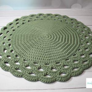 Dywan z ozdobnym wykończeniem 90 cm – dostępny od ręki w promocyjnej cenie